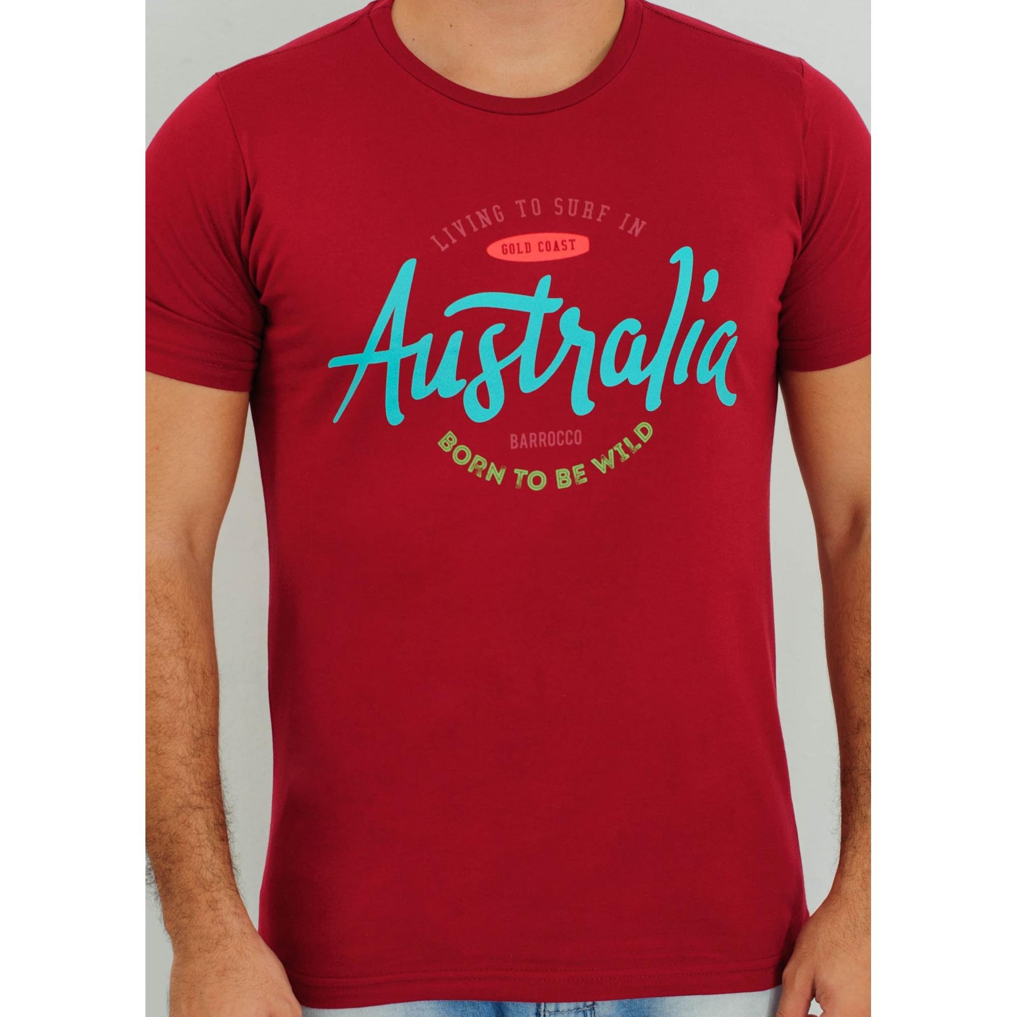 Camiseta Barrocco Austrália - FRETE GRÁTIS