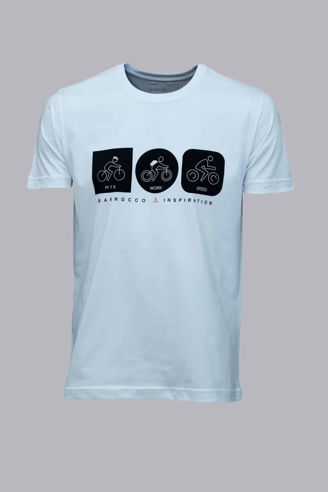 Camiseta Barrocco Bicicleta em Todos os Momentos