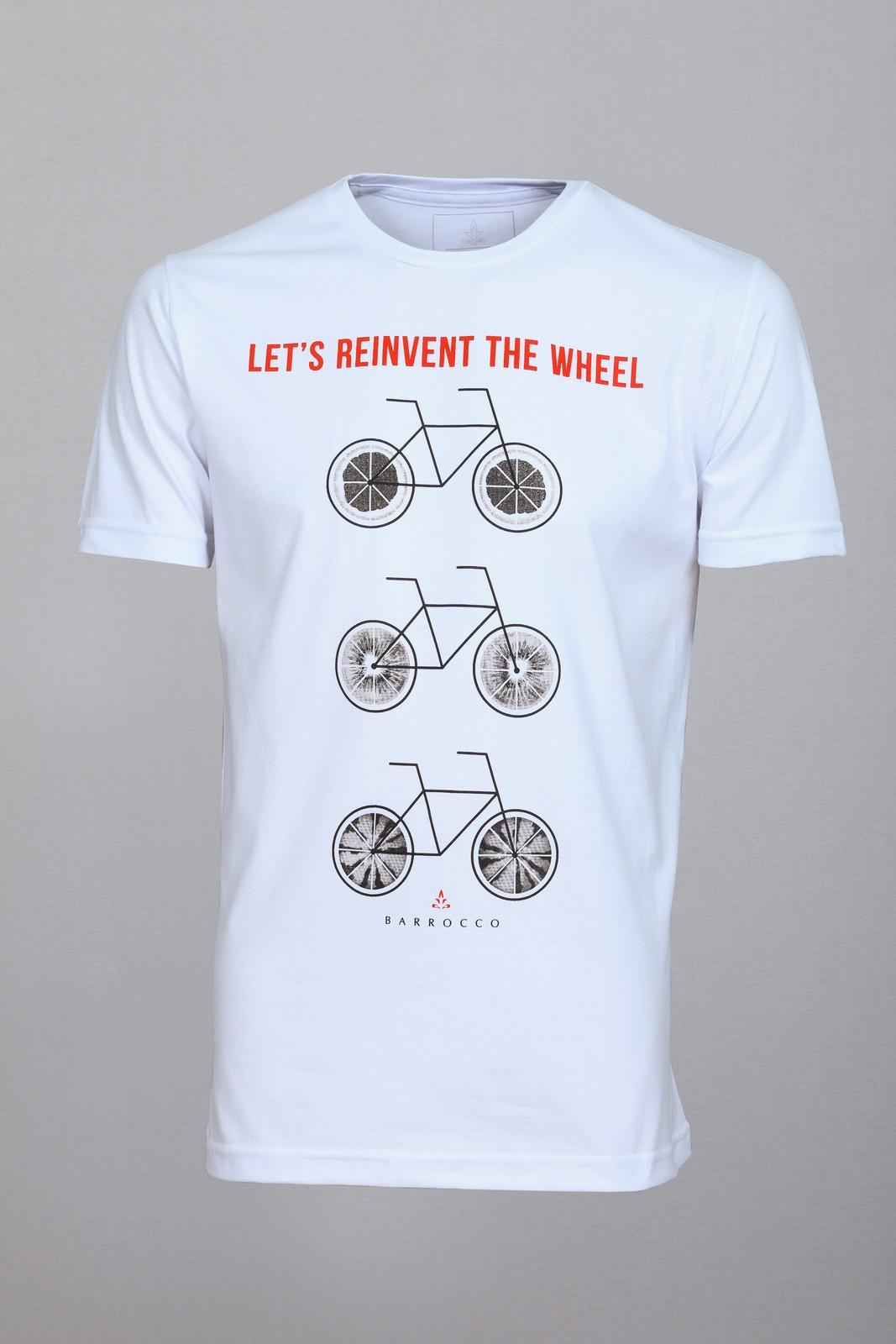 Camiseta Barrocco Bicicletas - FRETE GRÁTIS