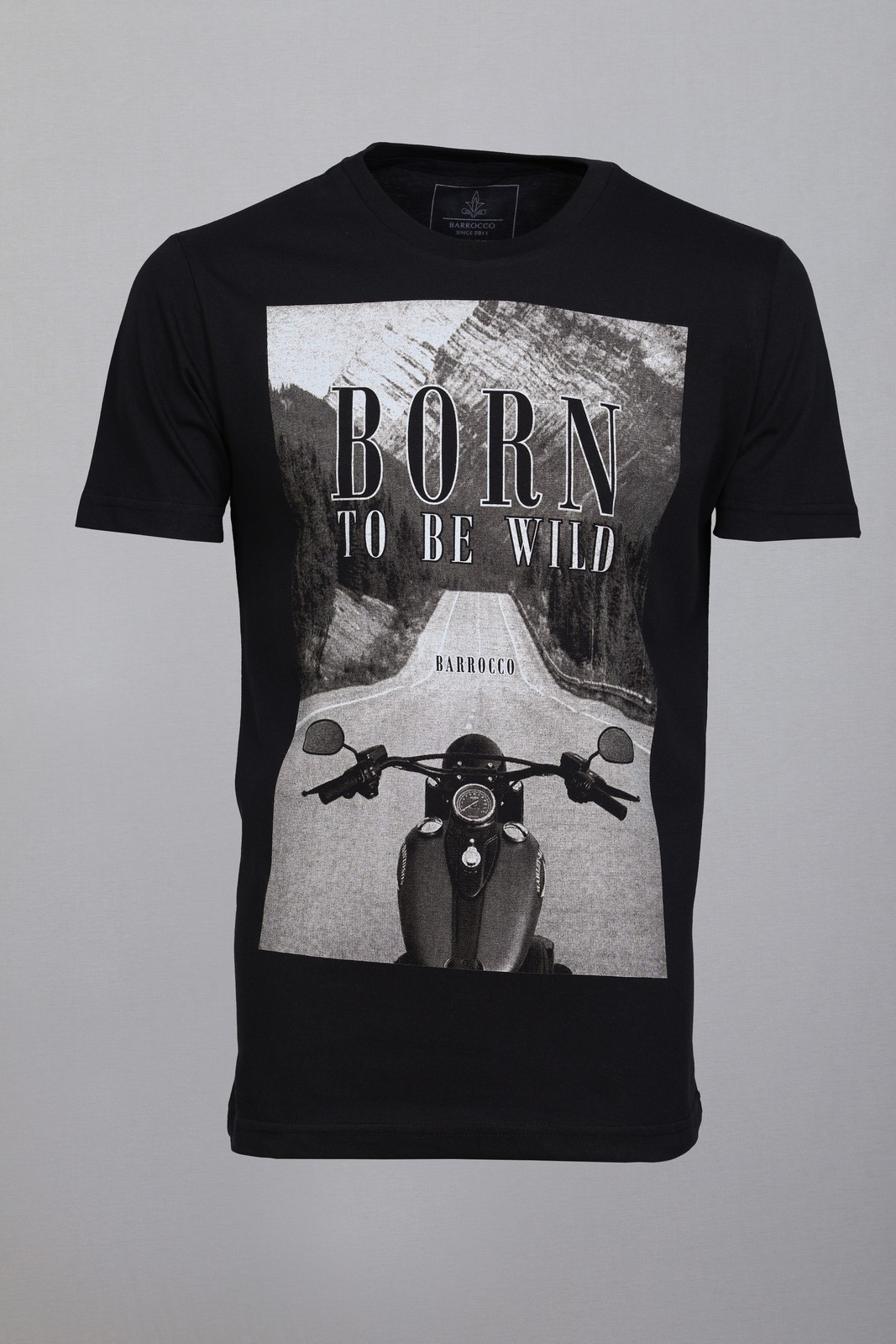 Camiseta Barrocco Born To Be Wild - FRETE GRÁTIS