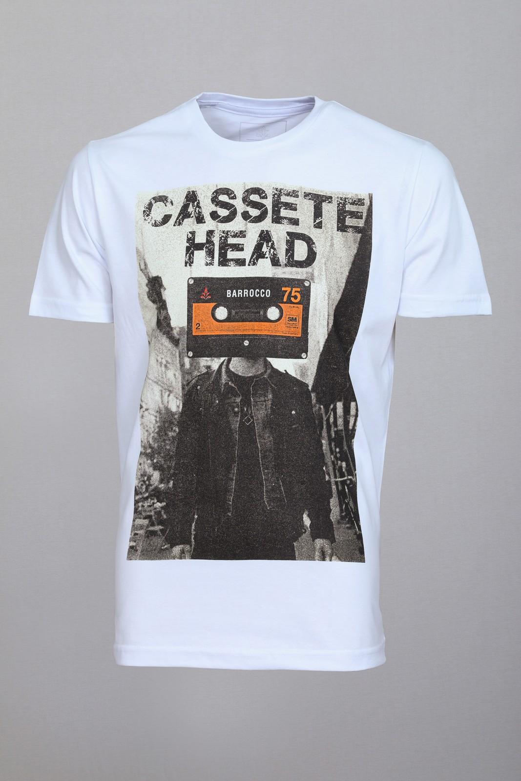 Camiseta Barrocco Cassete Head - FRETE GRÁTIS