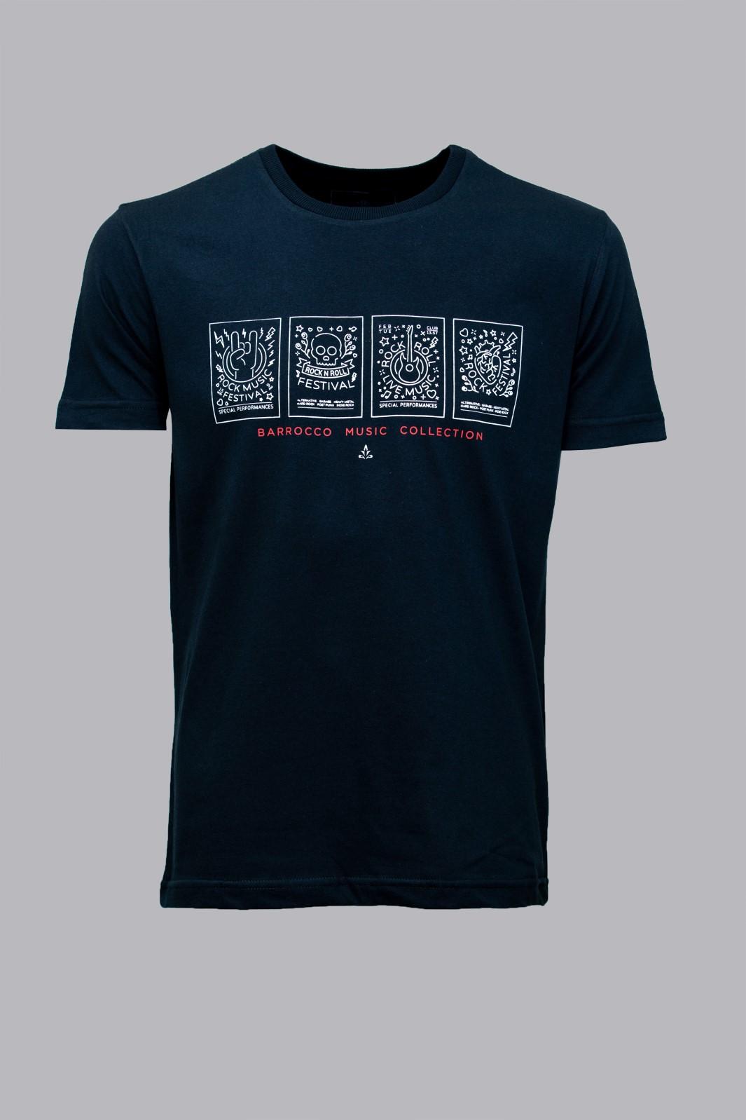 Camiseta Barrocco Coleção de músicas