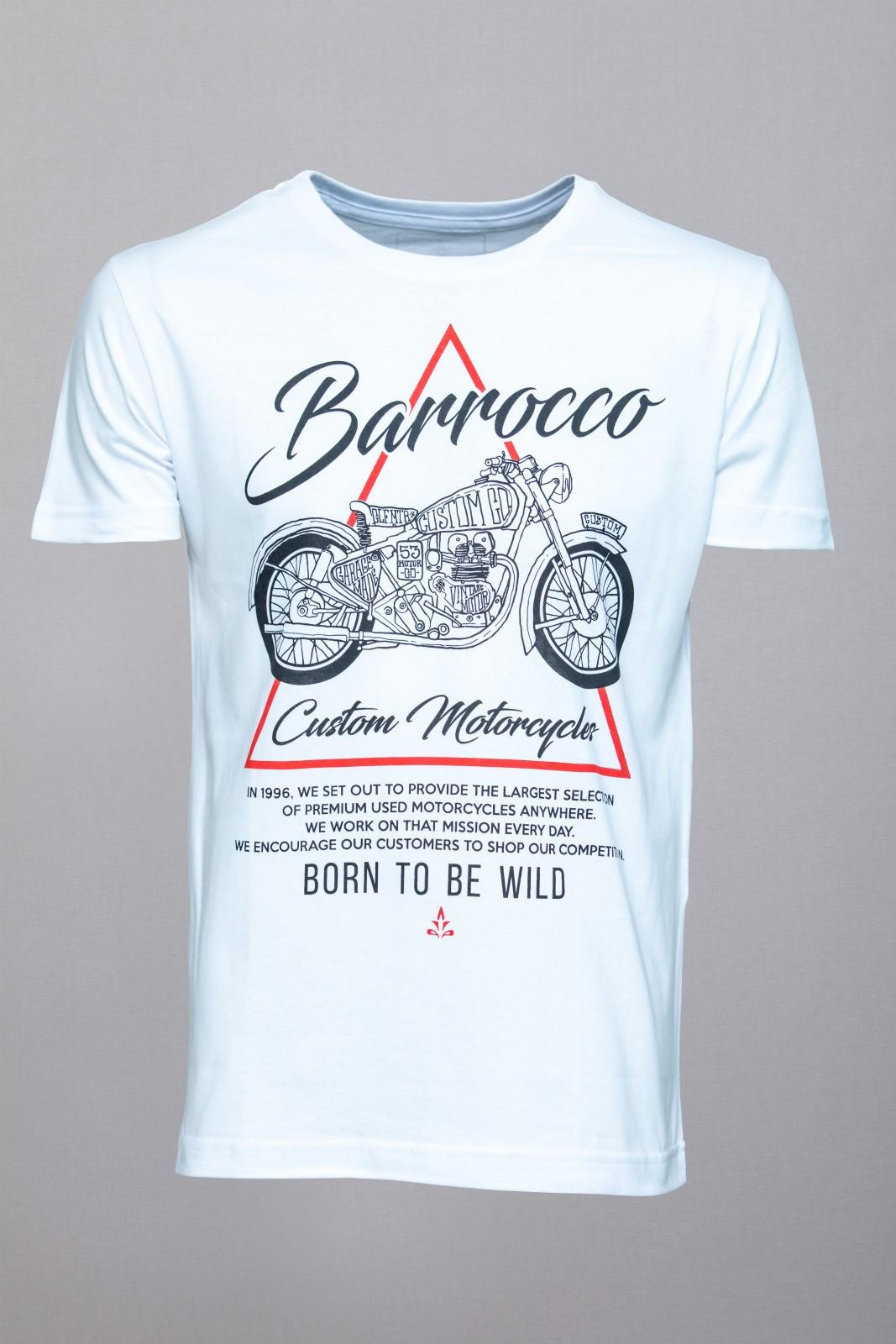 Camiseta Barrocco Custom Adventures - FRETE GRÁTIS