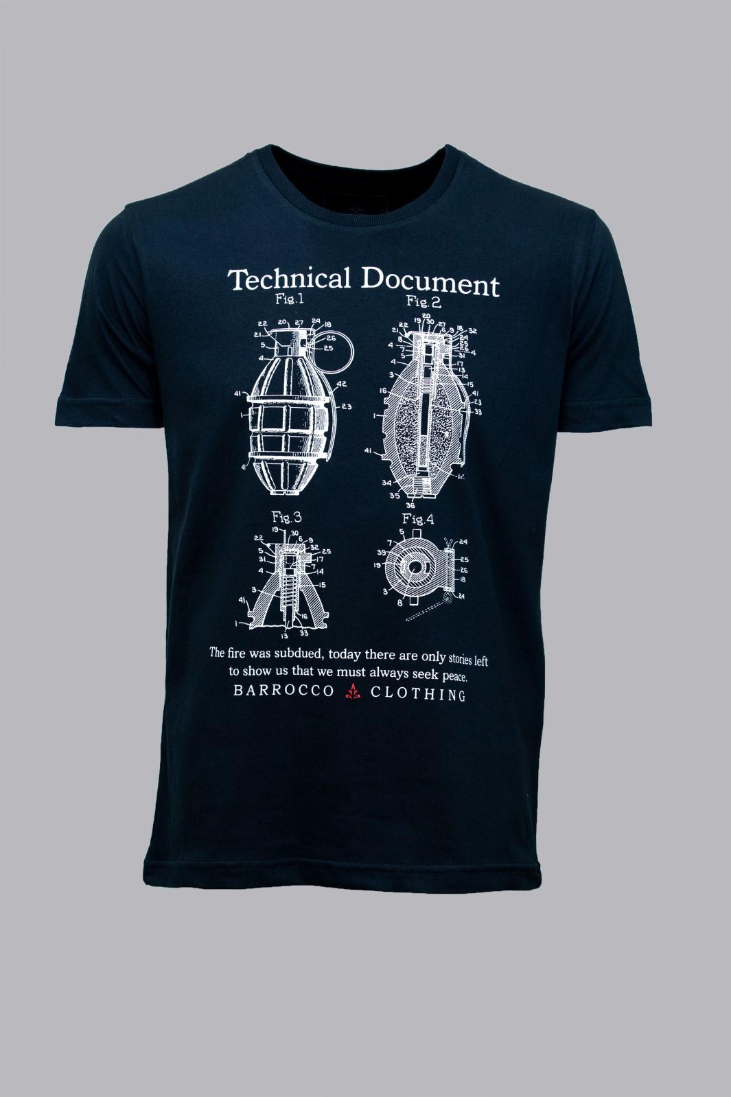 Camiseta Barrocco Documento Técnico