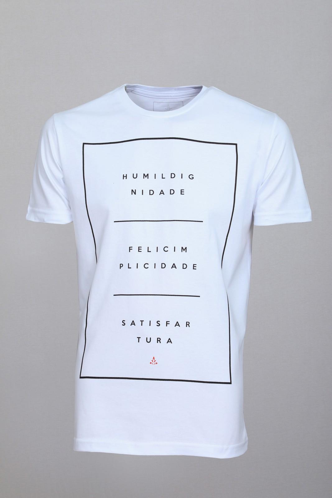 Camiseta Barrocco Equilíbrio - FRETE GRÁTIS