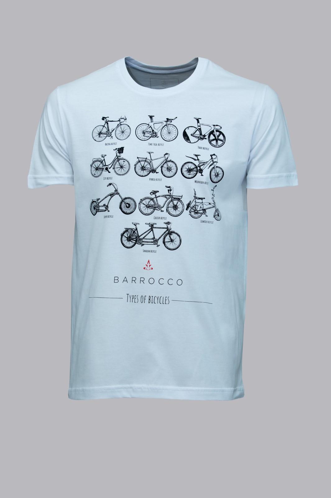 Camiseta Barrocco Escolha a Sua Bicicleta