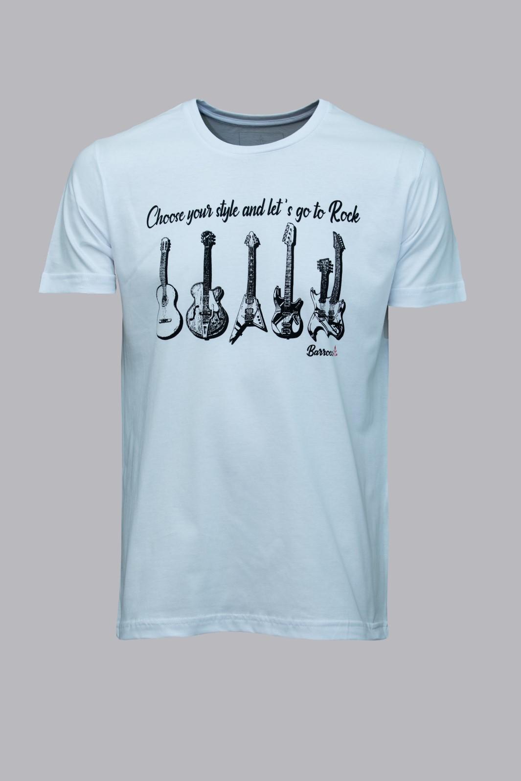 Camiseta Barrocco Escolha Seu Estilo