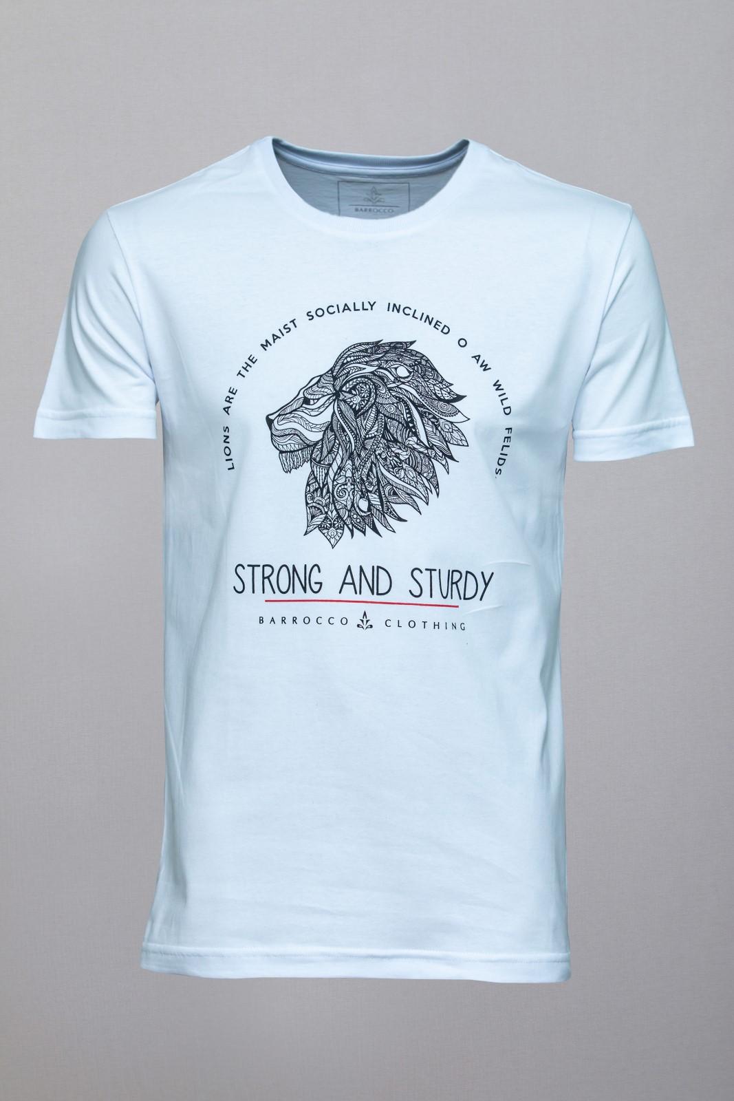 Camiseta Barrocco Forte e Resistente
