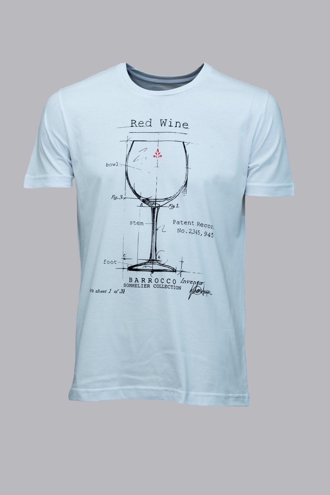Camiseta Barrocco Taça de vinho