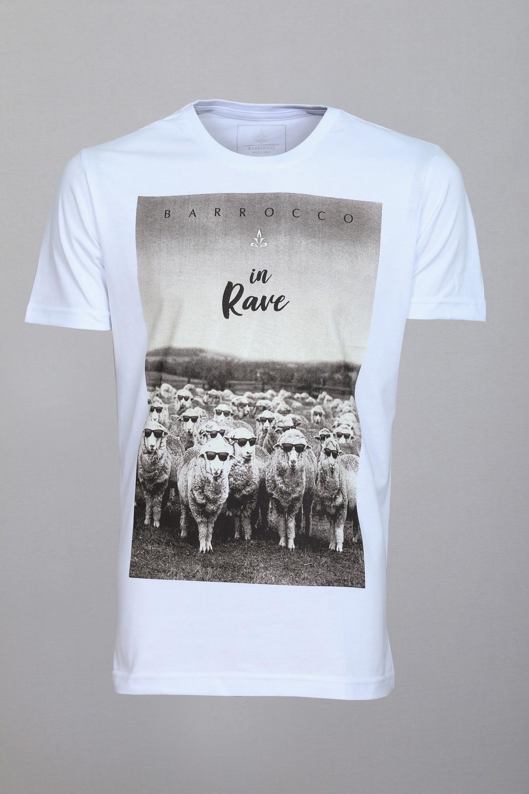 Camiseta Barrocco In Rave - FRETE GRÁTIS
