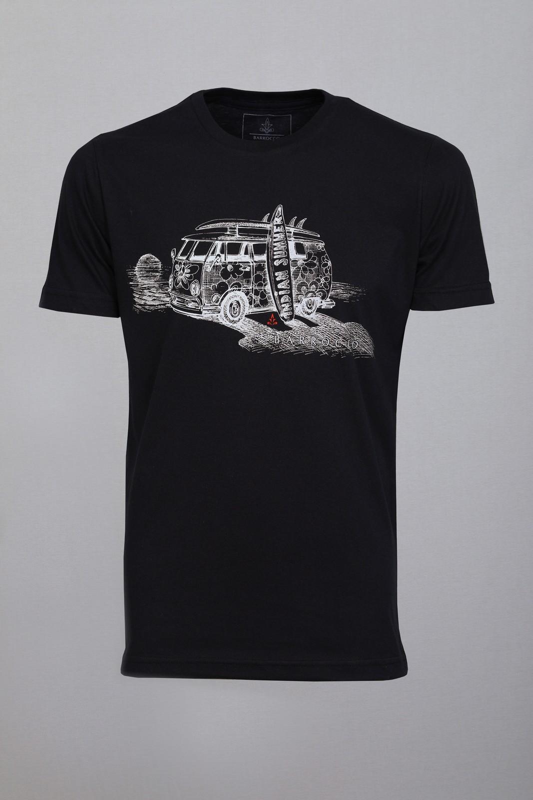 Camiseta Barrocco Kombi - FRETE GRÁTIS