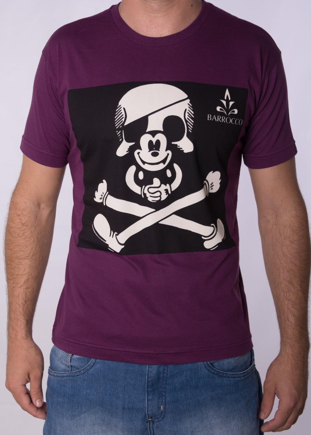 Camiseta Barrocco Mickey - FRETE GRÁTIS