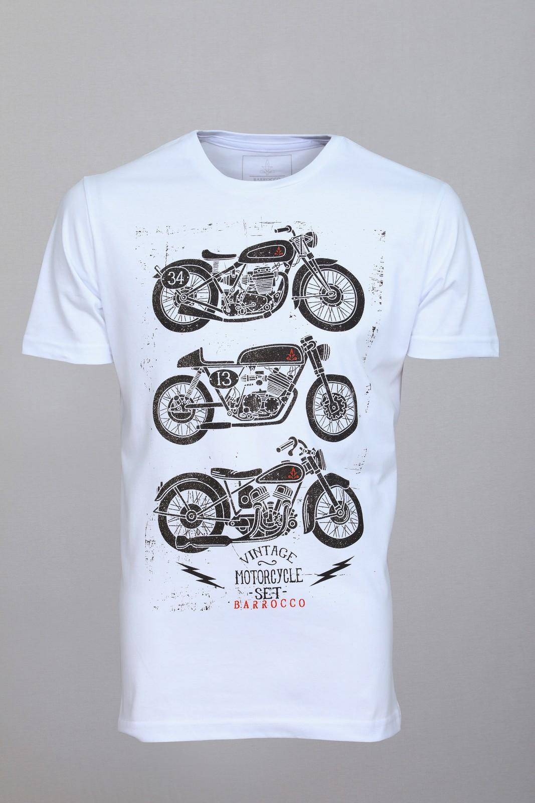 Camiseta Barrocco Motos - FRETE GRÁTIS