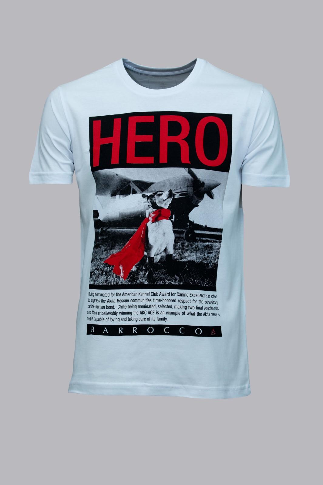 Camiseta Barrocco O Cão Herói