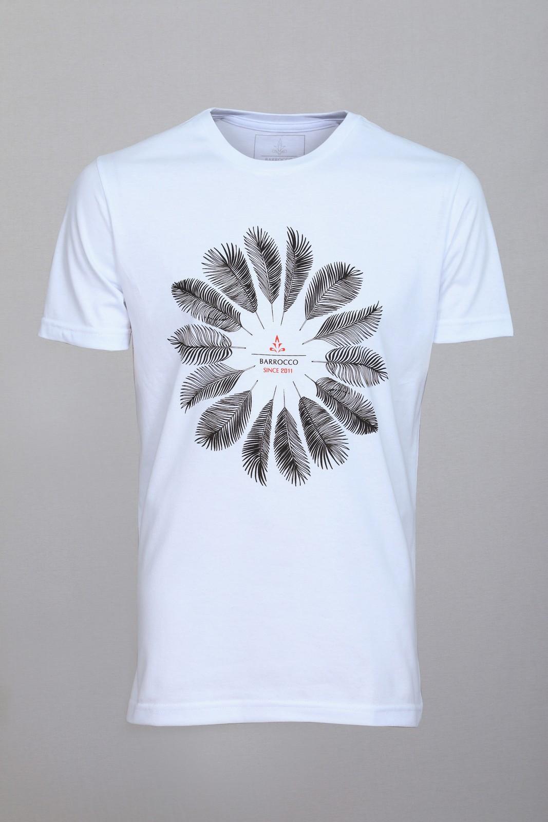 Camiseta Barrocco Palmeira - FRETE GRÁTIS