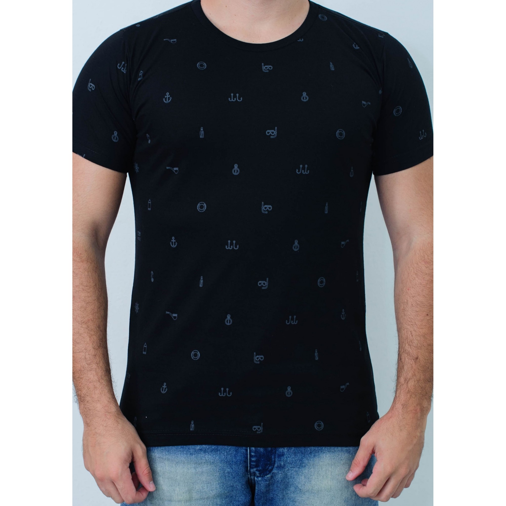Camiseta Barrocco Símbolos