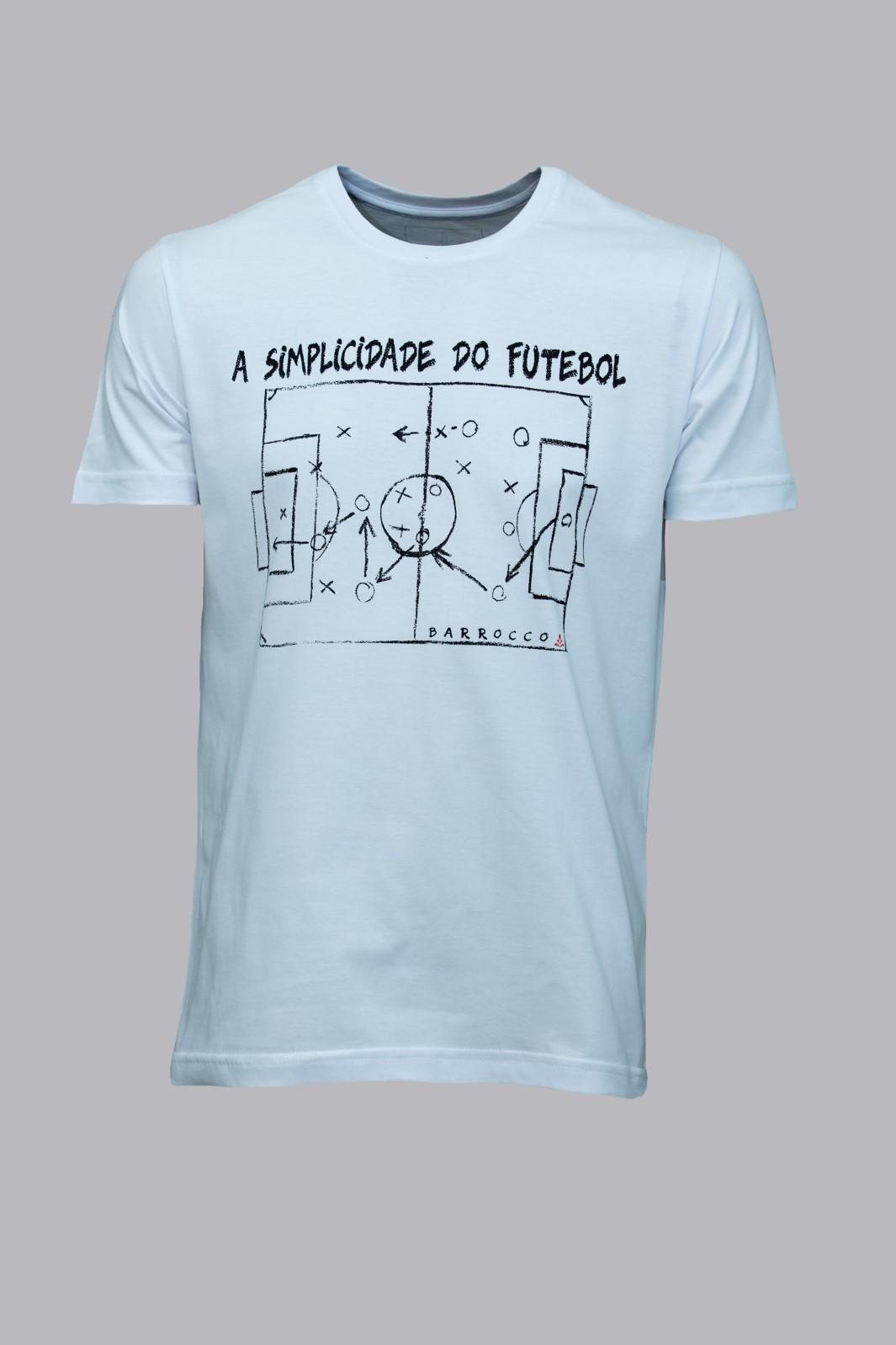 Camiseta Barrocco Simplicidade do Futebol