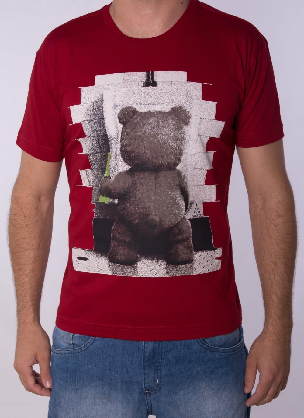 Camiseta Barrocco Ted - FRETE GRÁTIS