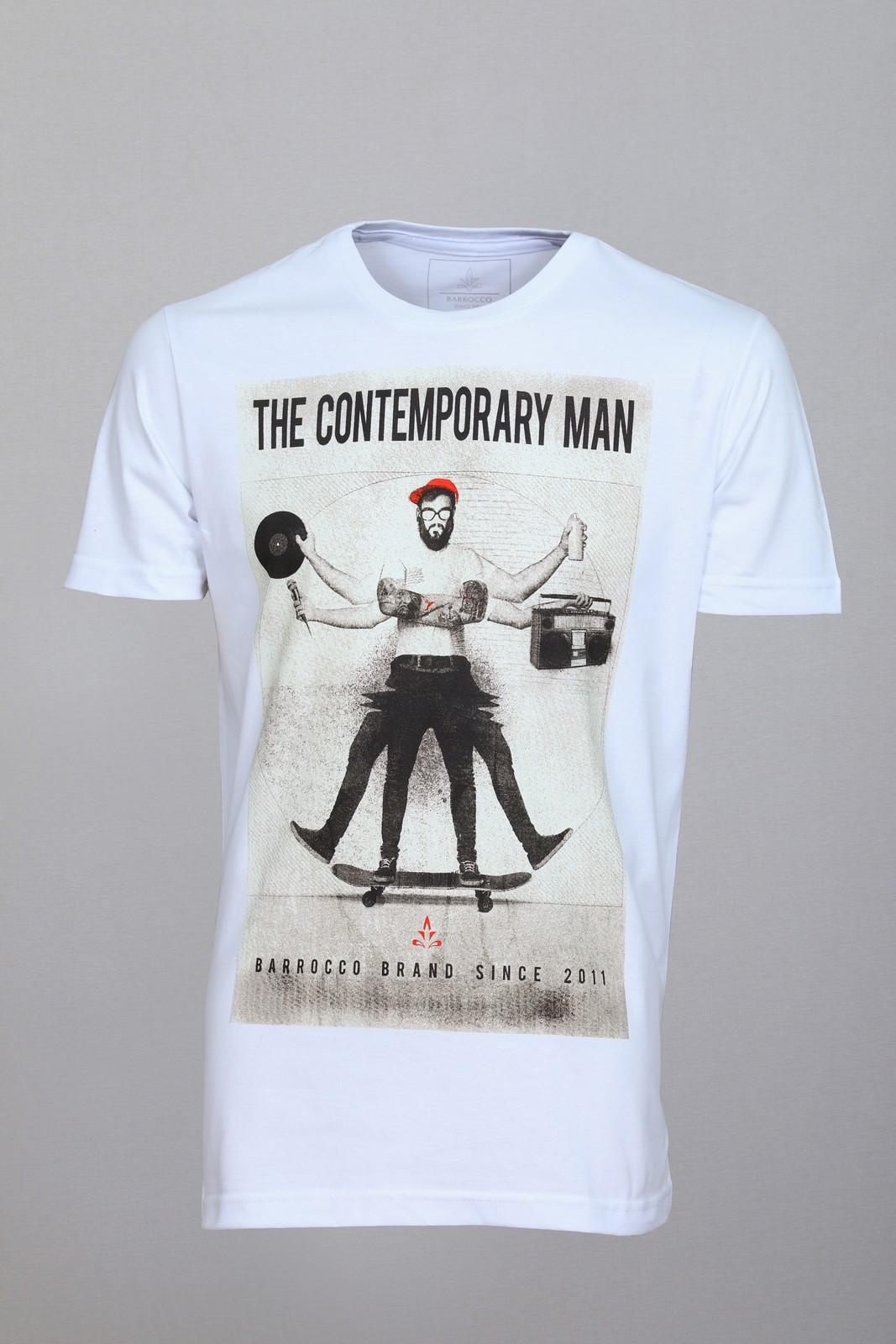 Camiseta Barrocco The Contemporary Man - FRETE GRÁTIS