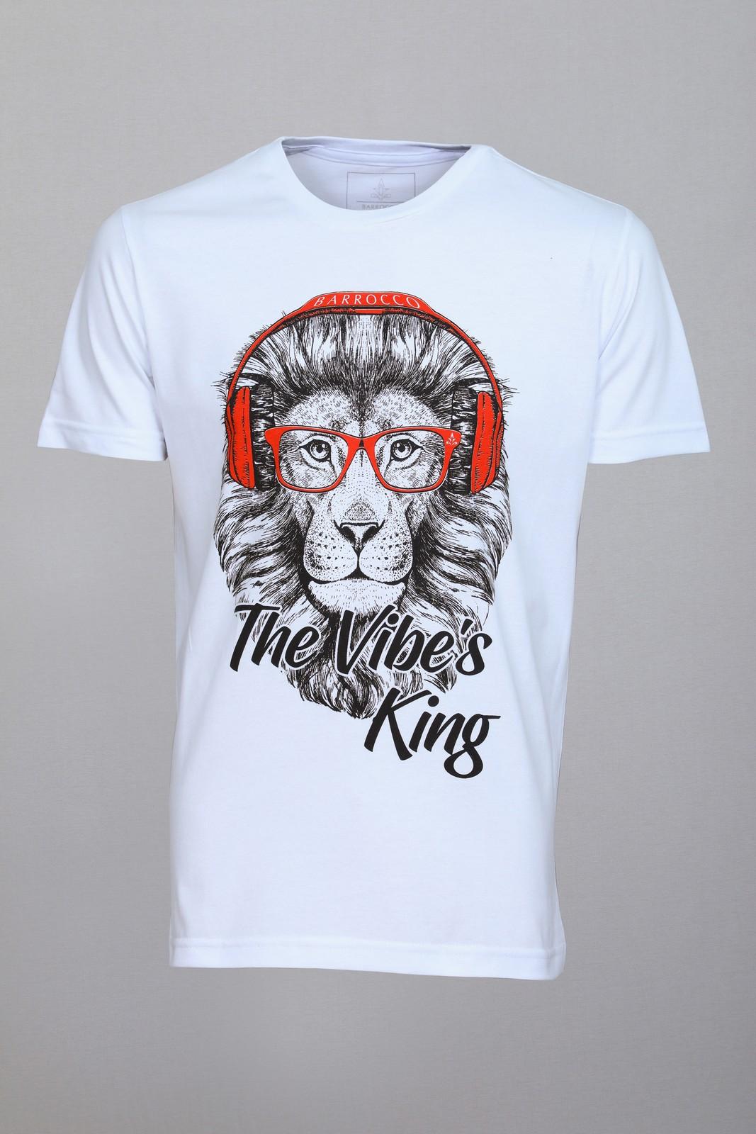 Camiseta Barrocco The Vibe´s King - FRETE GRÁTIS