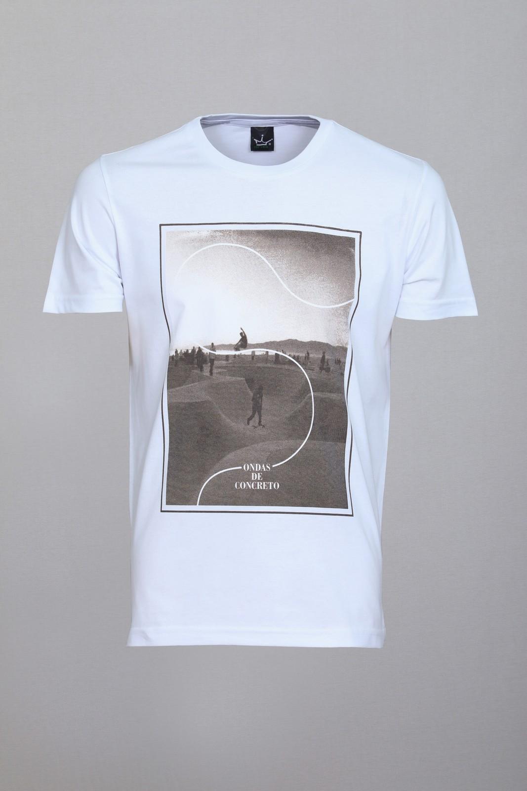 Camiseta CoolWave Concrete Waves