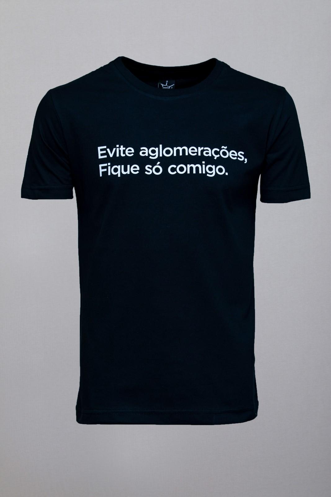Camiseta CoolWave Evite Aglomerações
