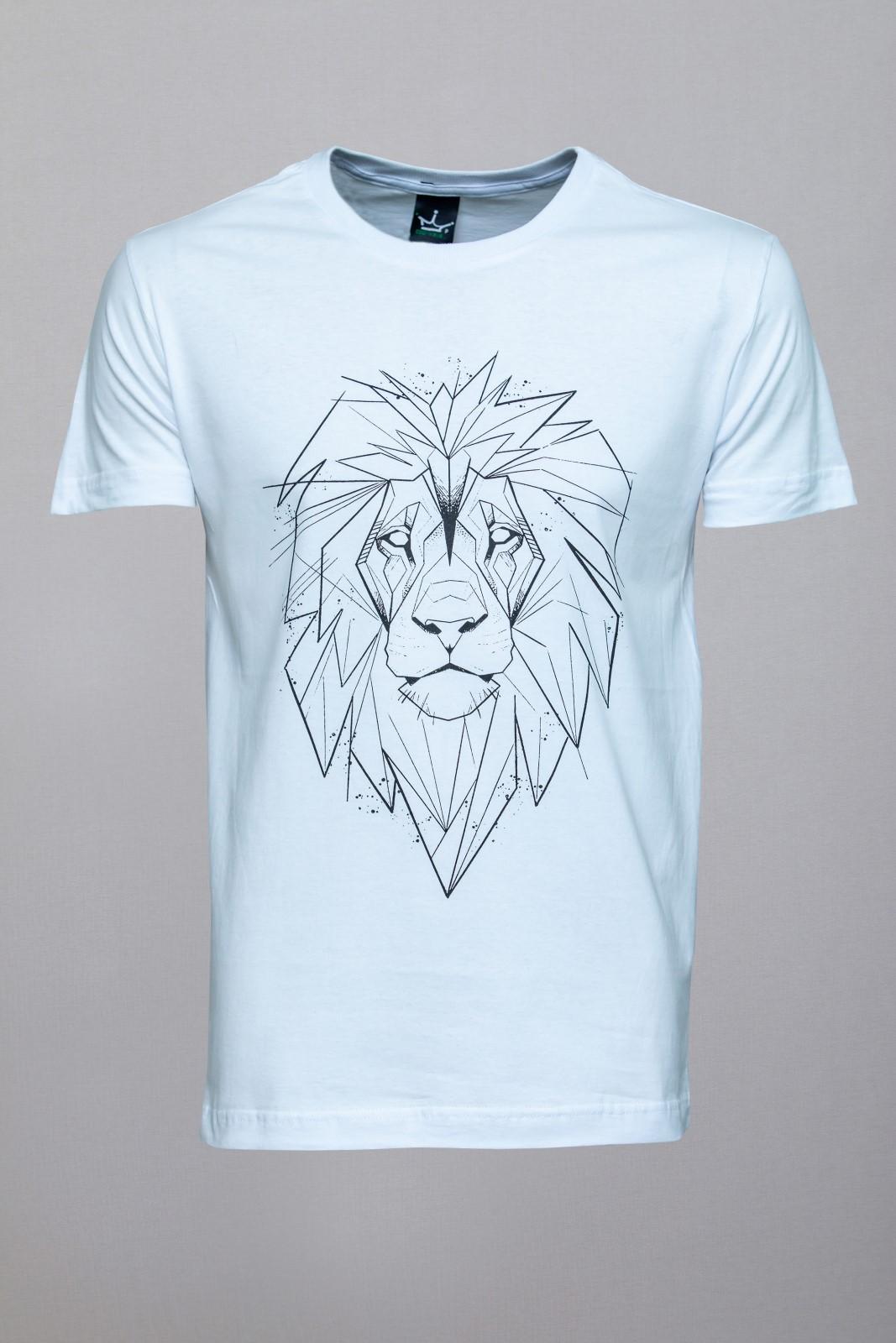 Camiseta CoolWave Lion Sketch
