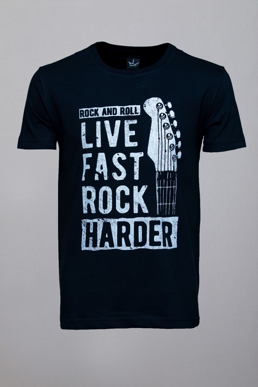 Camiseta CoolWave Live, Fast, Rock, Harder