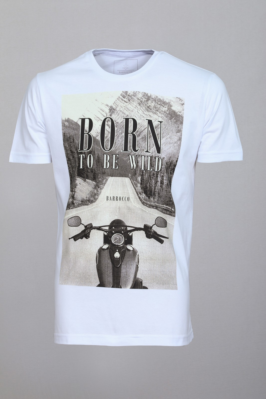 Kit Camisetas Barrocco Motos - 3 Camisetas Cor Branca/ Tamanho P