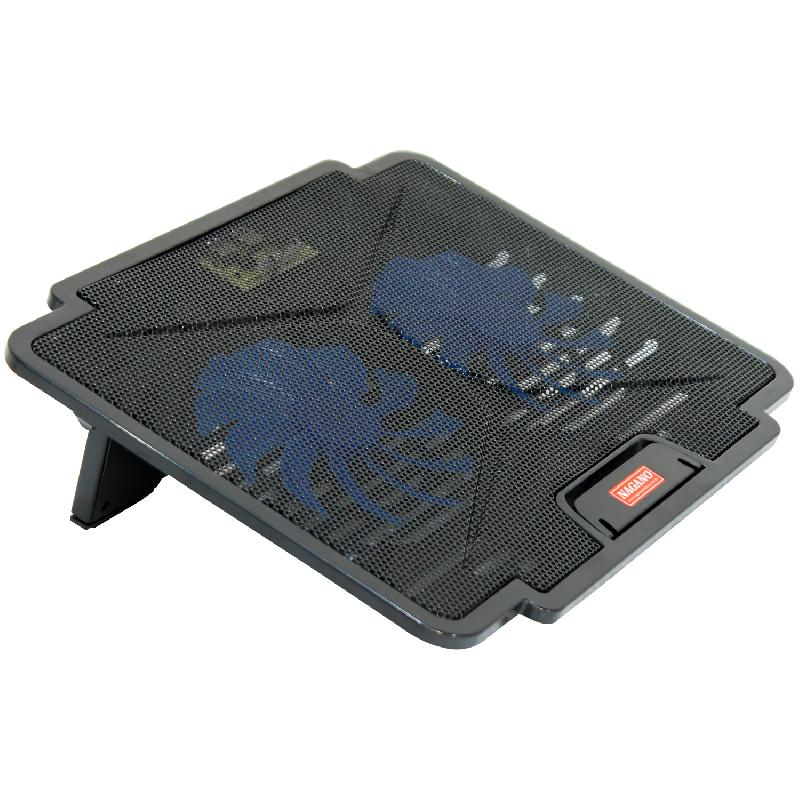 Base Pad com 2 Coolers para Notebook Laptop