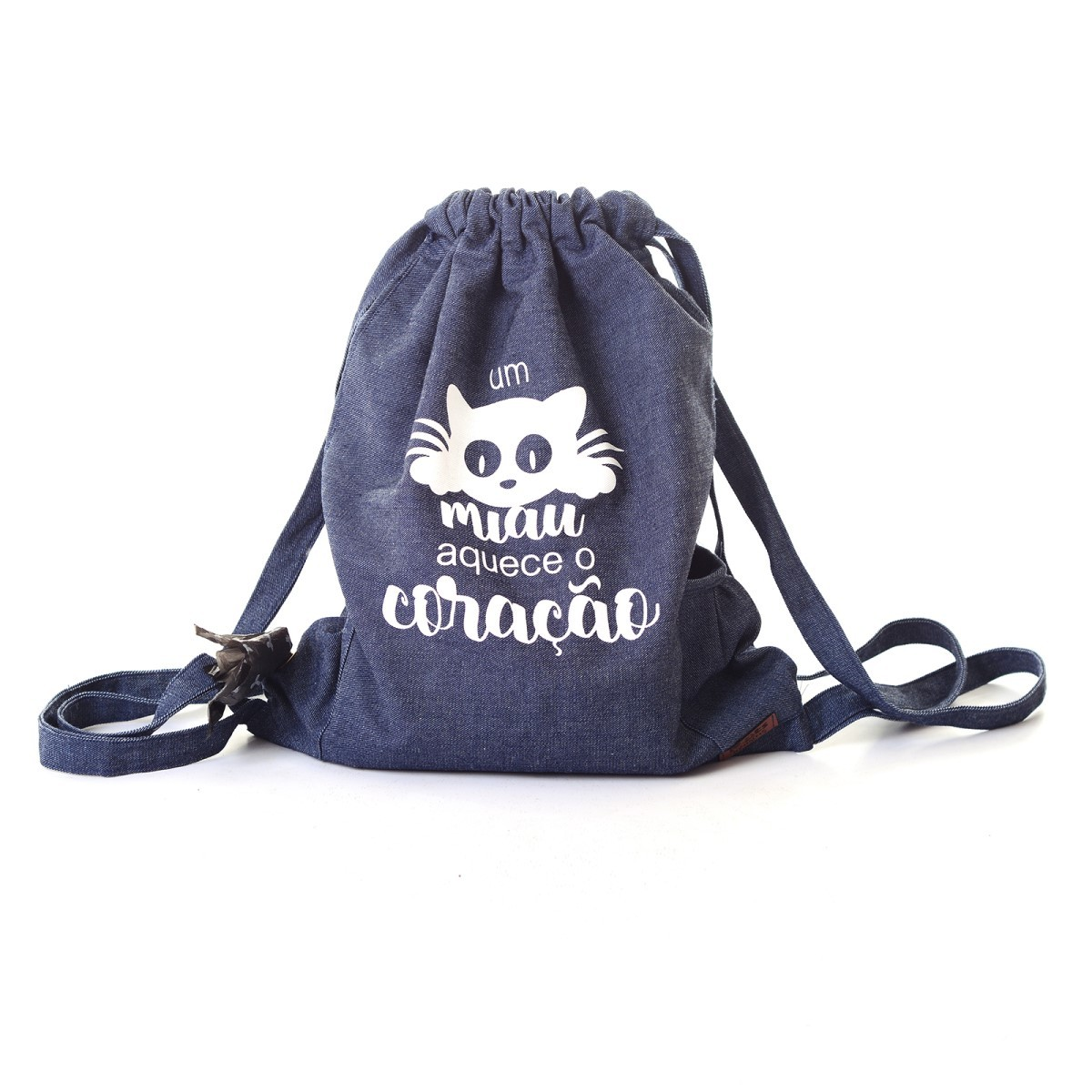 Mochila Pets Turistas - Um Miau Aquece o Coração