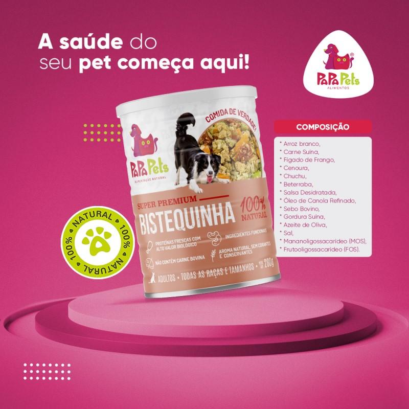 Papa Pets Bistequinha - Alimentação Natural - Cães Adultos