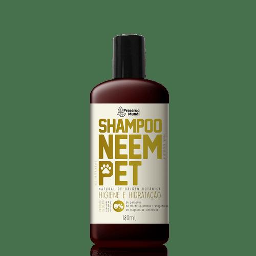 Shampoo Natural Neem Pet - Higiene e Hidratação - Preserva Mundi