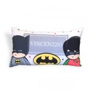 Almofada Fantasia de Batman e Robin com Nome
