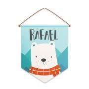 Flâmula Urso na Floresta