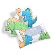 Kit de Almofadas Dinossauros com Nome