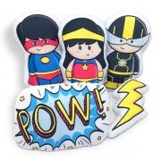 Kit de Almofadas Super Heróis e Heroína