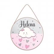 Plaquinha Porta Maternidade - Chuva de Amor