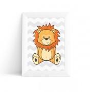 Quadro Leão Baby