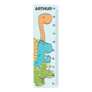 Régua de Crescimento Dinossauros