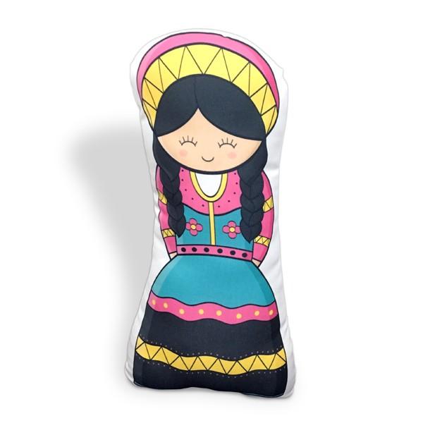 Almofada Boneca Peruana