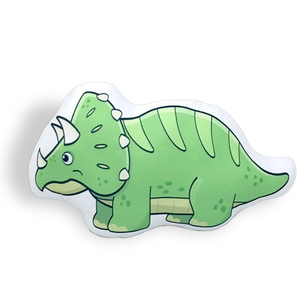 Almofada Dinossauro Triceratops