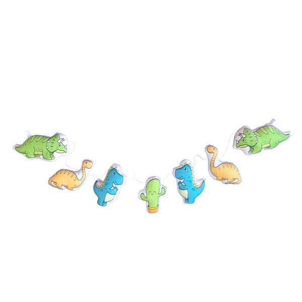 Cordão de Dinossauros Coloridos