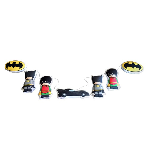 Cordão de Fantasia de Batman e Robin