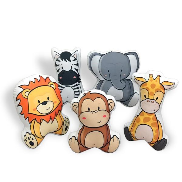 Kit de Almofadas Animais Safari