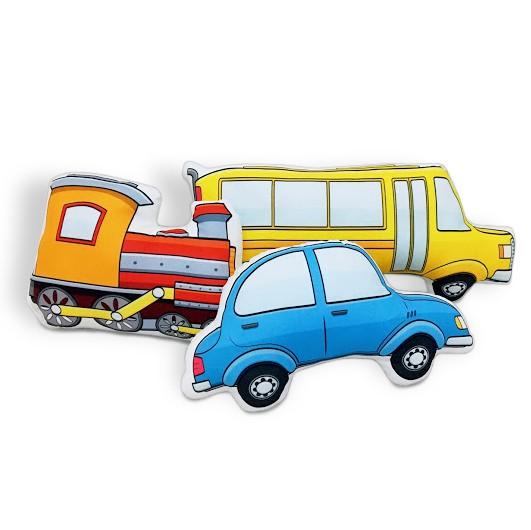 Kit de Almofadas Carro, Trem e Ônibus