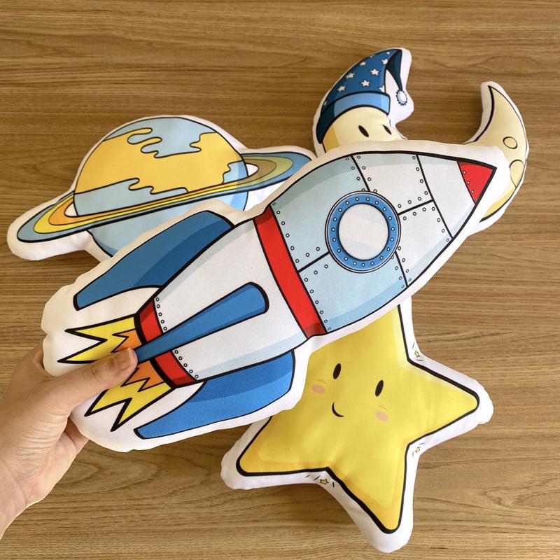 Kit de Almofadas Espacial