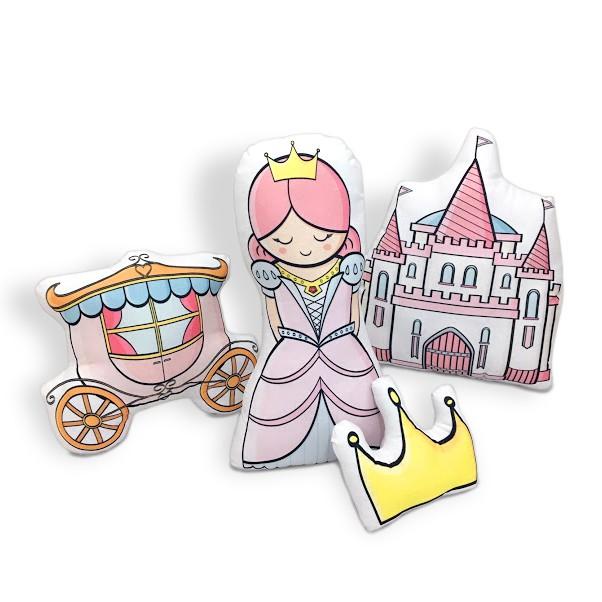 Kit de Almofadas Princesa