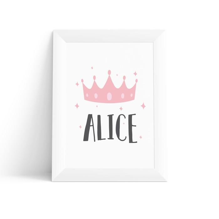 Quadro Coroa da Princesa