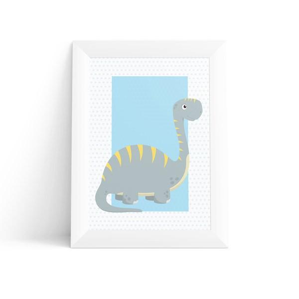 Quadro Dinossauro Bronto